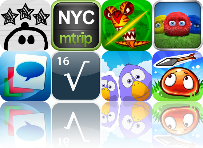iOS Apps Gone Free: His Adventure, New York Travel Guide, Chop Chop Slicer, And More