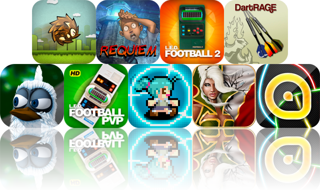 iOS Apps Gone Free: Hedgehog Adventure, Requiem, LED Football 2, And More