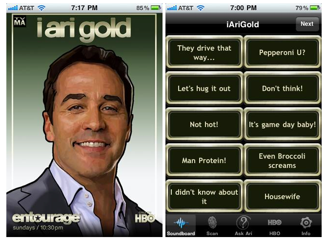HBO's 'Entourage' Goes Out In Style With New iPhone App
