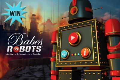A Chance To Win A Babes Vs. Robots Promo Code With A Retweet Or Comment