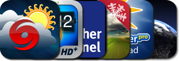 AppGuide Updated: Best iPad Weather Apps