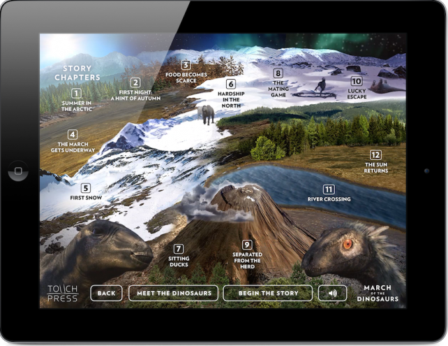 March Of The Dinosaurs Arrives For the iPad