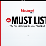 EW's Must List From Entertainment Weekly Finally Gets An Update