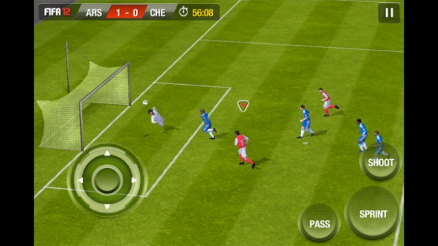 Still In The Game, EA Mobile's FIFA Soccer 12 Arrives In The App Store