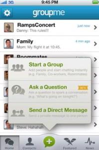 GroupMe™ by Mindless Dribble Inc. screenshot