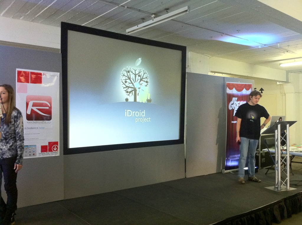 MyGreatFest - The iDroidProject Takes To The Stage