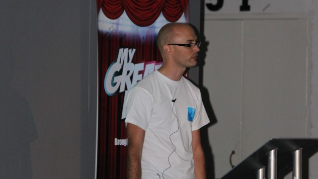 MyGreatFest - The Developer Of The iFile Jailbreak App Takes To The Stage