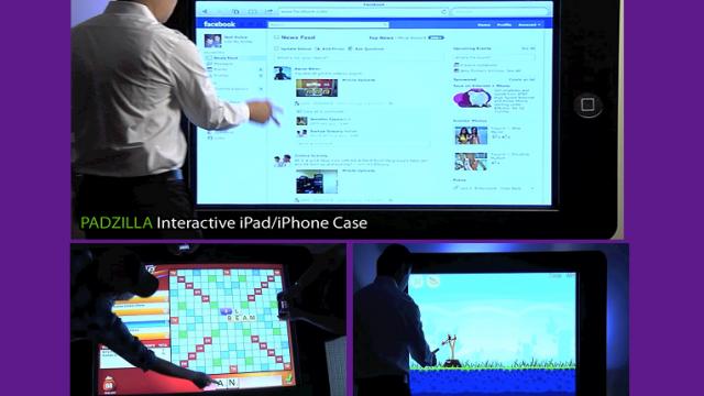 It's Alive! The 150 Inch iPad!