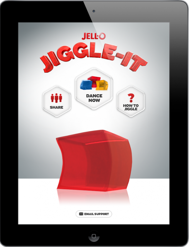 What Happens When You Combine JELL-O And Music? A Lot Of Jiggling Fun On Your iDevice