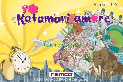 Katamari Amore Rolls Into The App Store