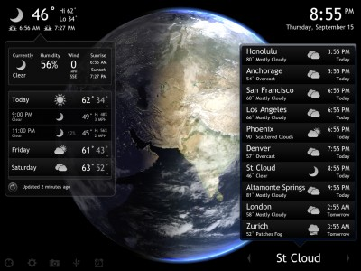 Living Earth HD v1.3 Expands On The Weather Reports, Supports iOS 5, And More