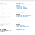 Apple Releases New iTunes And iWork Betas Ahead Of iOS 5, iCloud Release