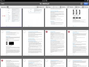 PDF Expert version 3.0 (iPad) - Edit Mode