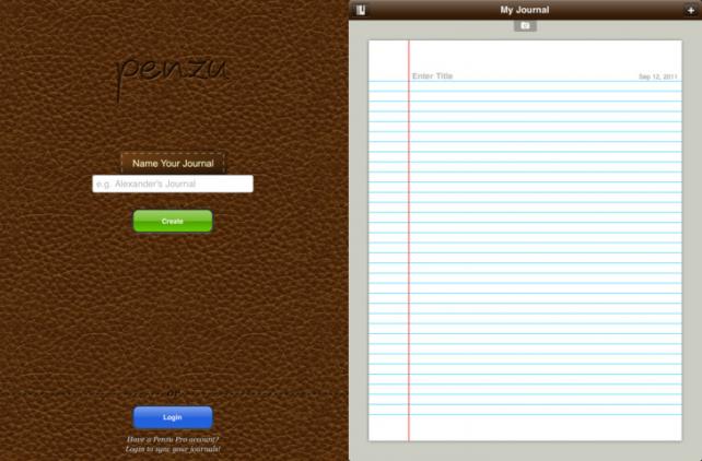 Penzu Journal App Arrives