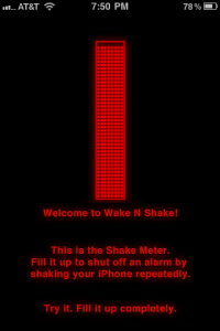 Wake N Shake Will Not Let You Sleep In