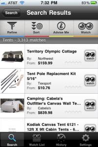 ShopAdvisor by Evoqu, Inc. screenshot