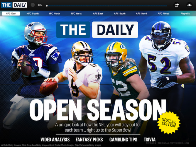 The Daily's Pro Football Guide 2011 Is Here For iPad