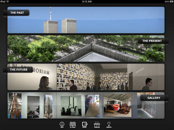 The 9/11 Memorial App Reminds Us, But Also Emphasizes The Future