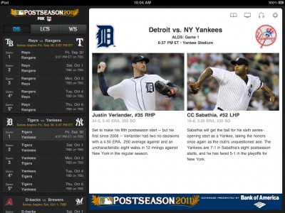 Major League Baseball Apps Updated For Postseason