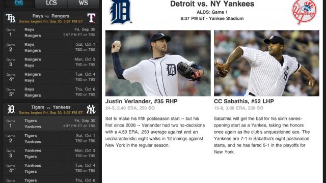 Major League Baseball Apps Updated For Postseason