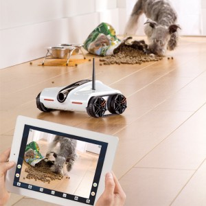 Brookstone To Sell The iOS-Controlled Rover Wireless Spy Tank Starting Next Month