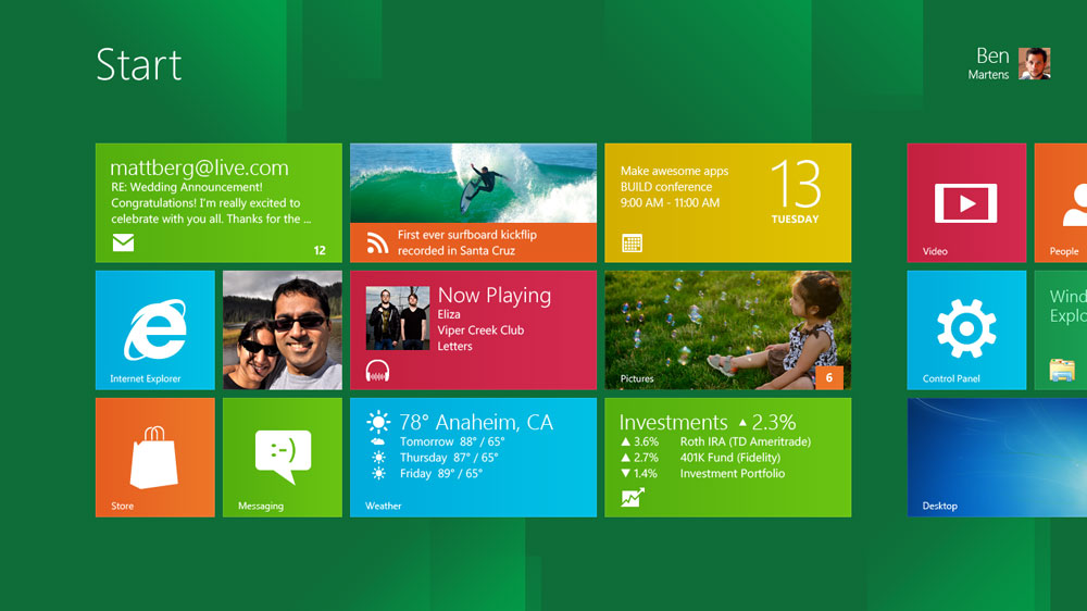 Microsoft Shows Off Windows 8 - With Some Interesting Ideas
