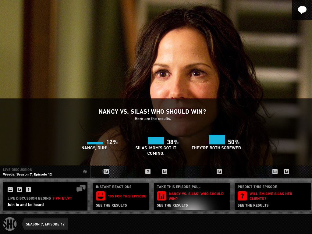 Showtime Networks Offers Their Own Social TV App With Live Interaction