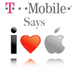 T-Mobile Showers Apple With Love, In Hopes Of Getting iPhone