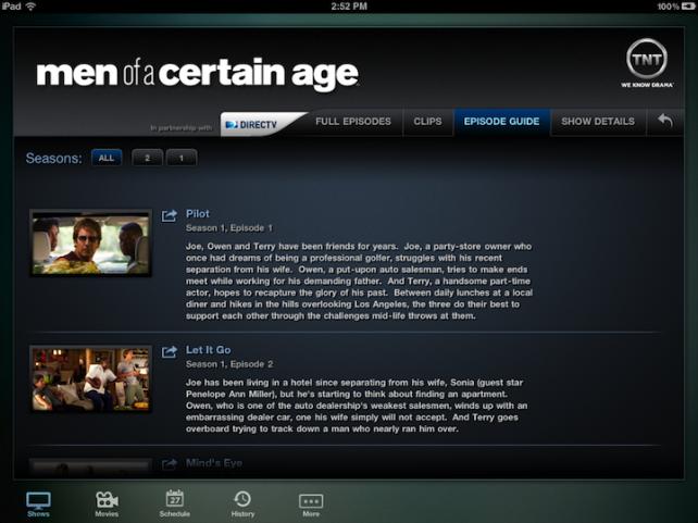 TNT for iPad - Yep, Every Episode