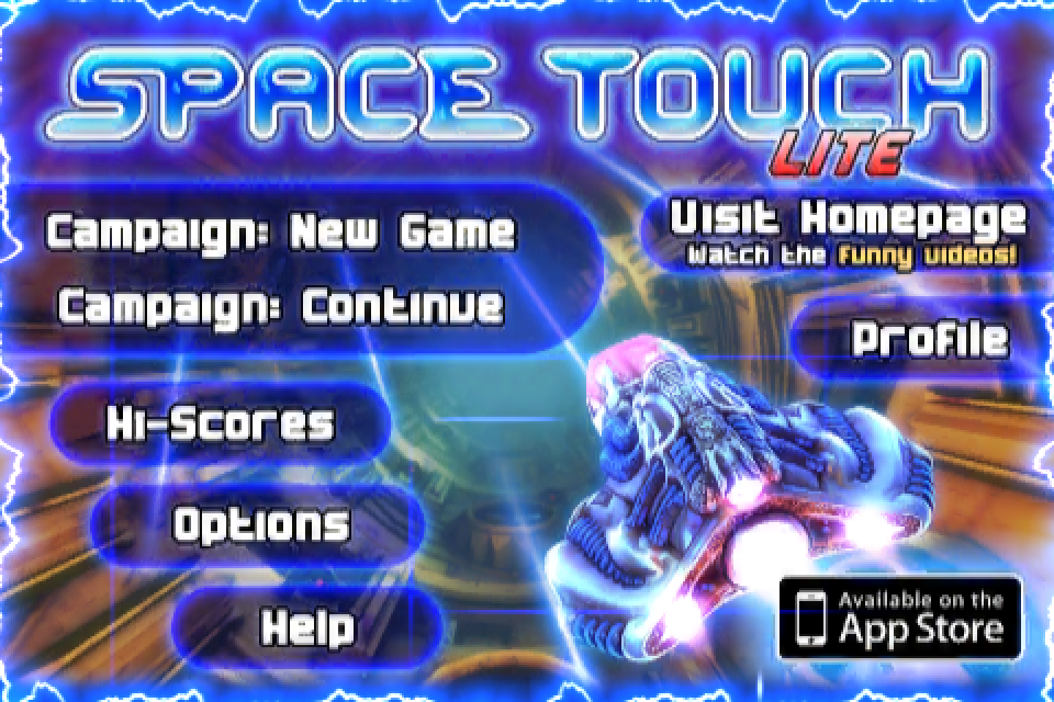 Obliterate The Bad Guys In Space Touch