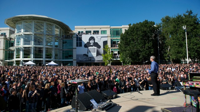 Apple Publishes Photo From Celebration Of Steve Jobs' Life