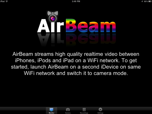 AirBeam Updated - Adds Audio Streaming, Audio Detection, Torch Control And More