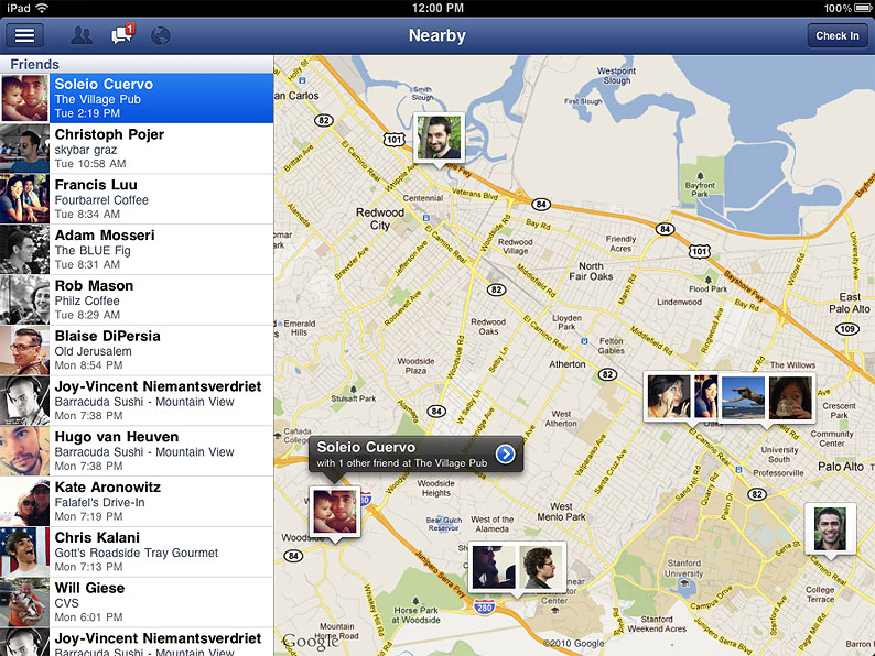 A (Very Early) First Look At The New Facebook For iPad App
