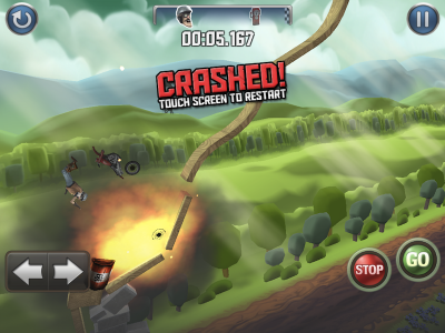 Bike Baron Crashes Into The App Store With Style