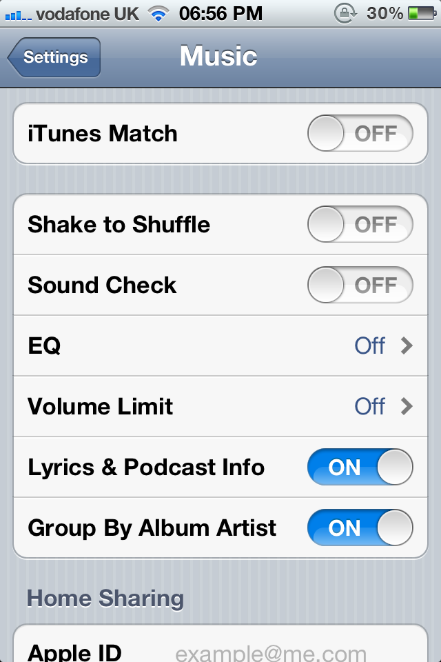 iTunes Match Setting Appears In iOS 5 - Launch Imminent?