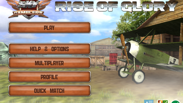 Sky Gamblers: Rise Of Glory Updated - Now Optimized For The iPhone 4S