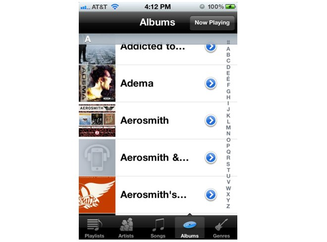 gMusic - A New, Native Google Music Client For iPhone