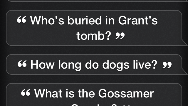 There's A Lot You Can Do With Siri And Wolfram Alpha