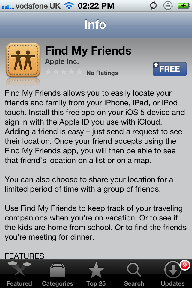 "Apple's ""Find My Friends"" App Is Now Available To Download [Updated]"