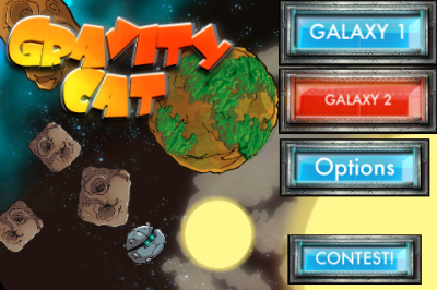 Watch Out For Bugs And Stars As You Collect Power Cells In GravCat
