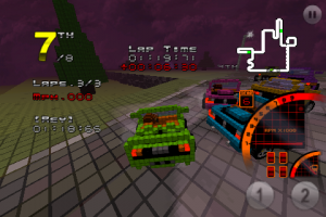 3D Pixel Racing by Vidia screenshot