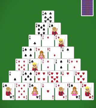 Clear The Table Of Cards With Solitaire Pyramid