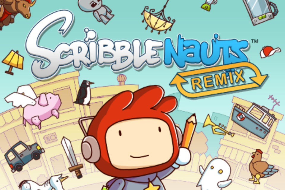 Scribblenauts Arrives On Your iDevice, Complete With iCloud