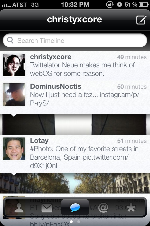 Twittelator Neue Is A Beautiful New Face For Twitter