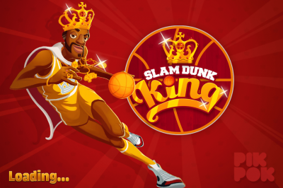 Fly High As You Aim For The Hoop In Slam Dunk King