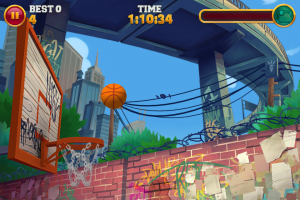 Slam Dunk King by PikPok screenshot