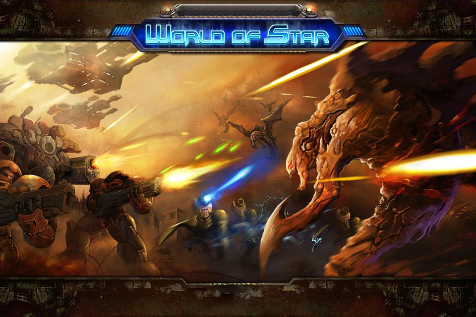 Build Up Your Forces To Wage War Against Your Foes In World Of Star
