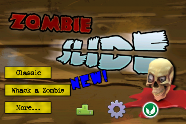 Slash Zombie Heads Instead Of Fruit In ZombieSlide