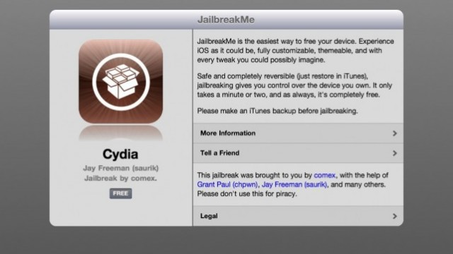 Good News, Jailbreakers: JailbreakMe Domain Now Owned By Jay Freeman