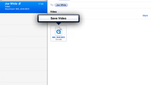 In iOS 5, It's Possible To Easily Save Videos To Your Camera Roll